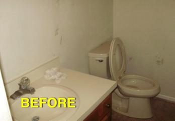 Bathroom Remodel Gone Wrong photos of complete home renovation in hampton roads   bob's custom
